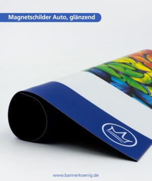 Magnetschilder Auto, glänzend – Materialansicht 1