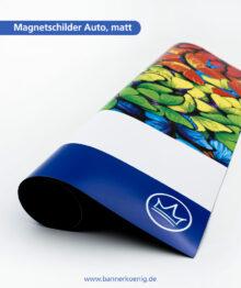Magnetschilder Auto, matt – Materialansicht 1