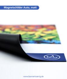 Magnetschilder Auto, matt – Materialansicht 2