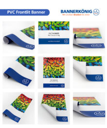 PVC Frontlit – Materialansicht gesamt
