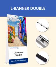L-Banner Double
