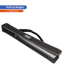Roll-Up Budget – Tragetasche