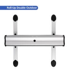 Roll-Up Double Outdoor – Standfüße