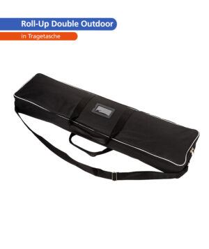 Roll-Up Double Outdoor – Tragetasche