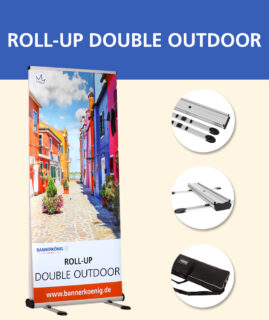 Roll-Up Double Outdoor