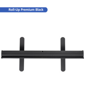 Roll-Up Premium Black – Standfüße