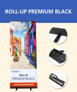Roll-Up Premium Black