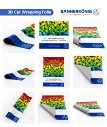 3D Car Wrapping Folie, glänzend – Materialansicht gesamt