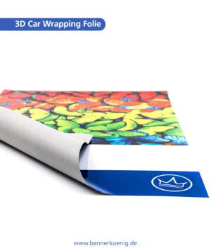 3D Car Wrapping Folie, glänzend – Materialansicht 2