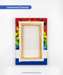 Fotoleinwand – Rückseite