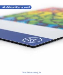Alu-Dibond-Platte, weiß – Materialansicht 3