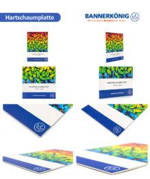 Hartschaumplatte, 3mm – Materialansicht gesamt