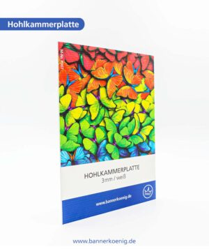 Hohlkammerplatte – Materialansicht 1