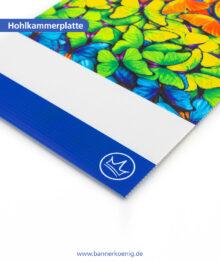 Hohlkammerplatte – Materialansicht 2