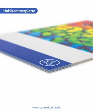 Hohlkammerplatte – Materialansicht 3