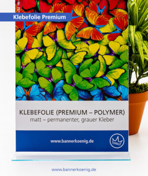 Premium-Klebefolie, matt – Materialansicht 1