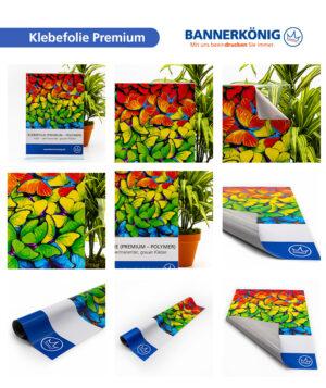 Premium-Klebefolie, matt – Materialansicht gesamt