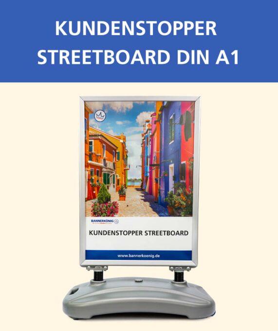 Kundenstopper Streetboard, DIN A1